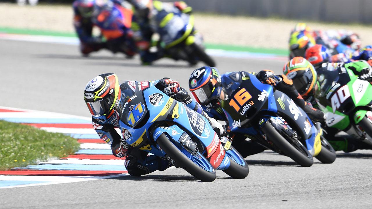 GP de la República Checa Moto3: Los pilotos Repsol de Moto3 rozan los puntos en Brno