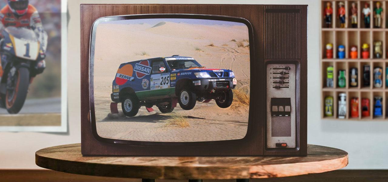 Así éramos hace 25 años cuando el Dakar pasaba por España