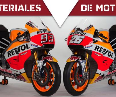 RC213V de Marc Márquez y Dani Pedrosa