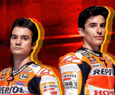 Marc Márquez y Dani Pedrosa. Quizz piloto.