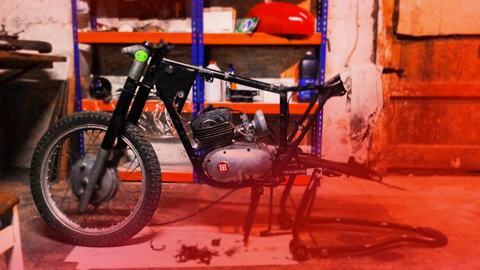 Dónde conseguir una moto clásica para restaurar