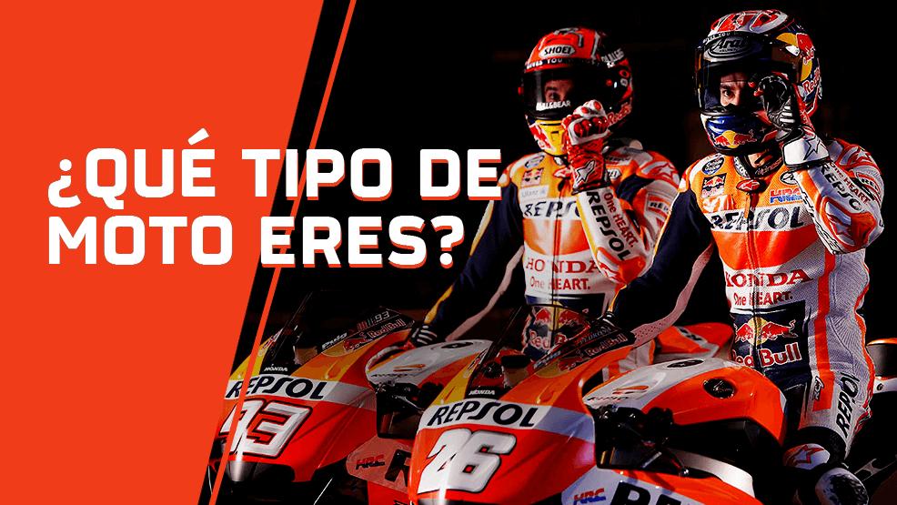 ¿Qué tipo de moto eres?