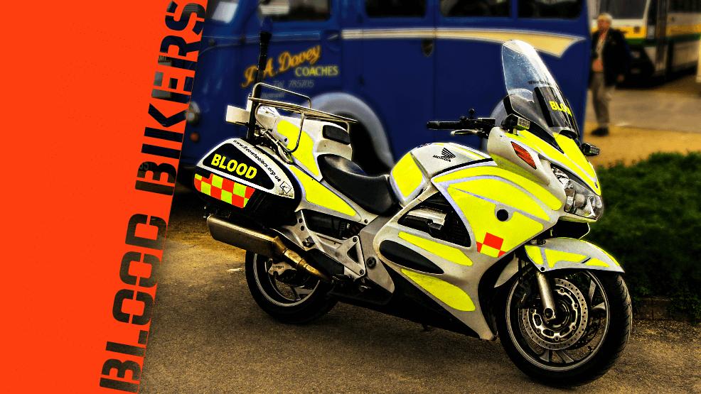 'Blood bikers', los moteros mensajeros que salvan vidas