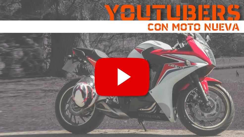 Cuando un youtuber motero estrena moto
