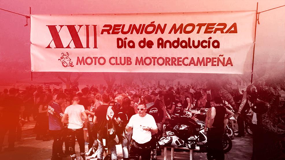Motoclub Motorrecampeña, los padres de la Reunión Motera del Día de Andalucía