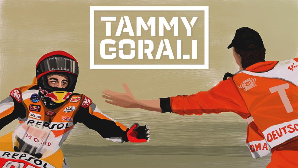 Tammy Gorali, la retratista de los campeones de MotoGP