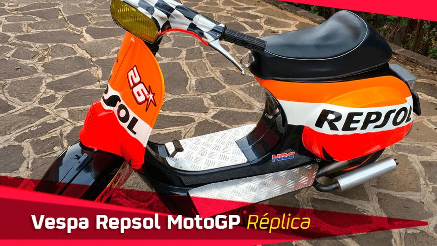 Vespa Repsol MotoGP Réplica