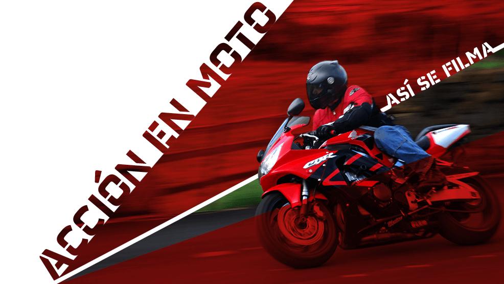 Así se ruedan en el cine las escenas de acción en moto