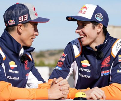 Third challenge for Márquez brothers with Repsol>