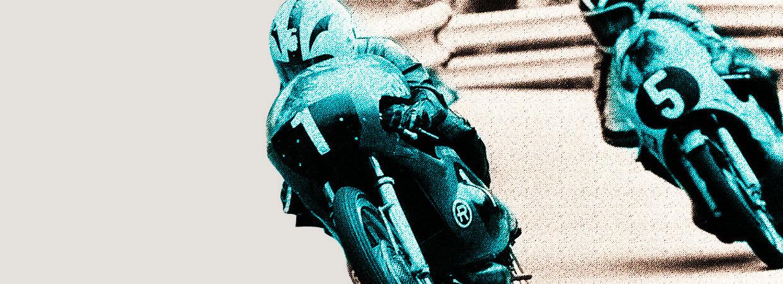 Motos clásicas de carrera