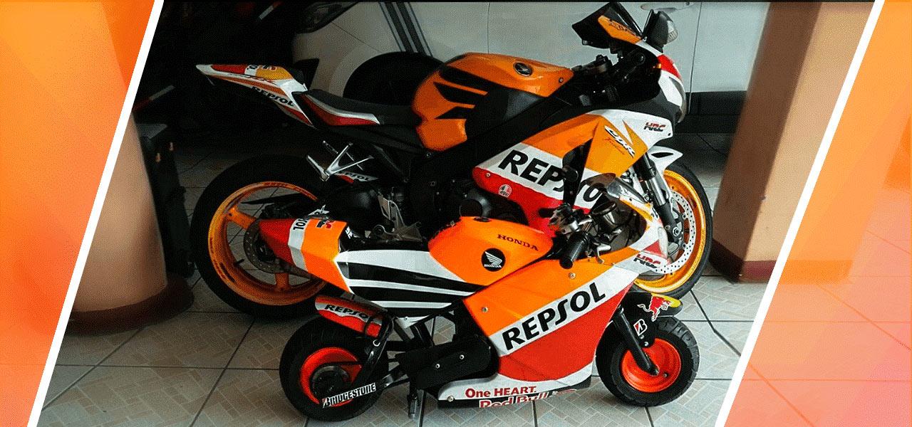 CBR 1000RR Honda Repsol en pequeño para sus hijos