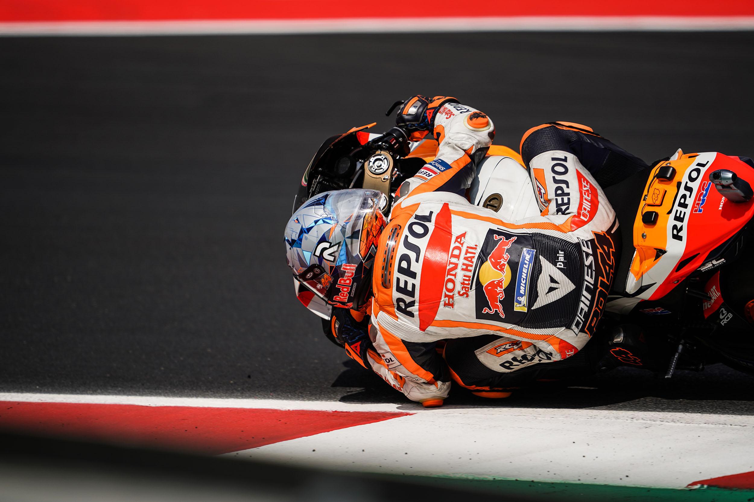 Second and third rows for Repsol Honda Team at Misano