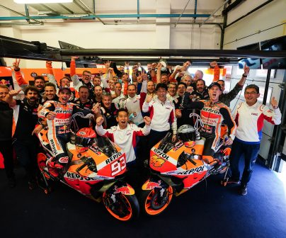 Victory and second place for Repsol Honda Team at Misano>