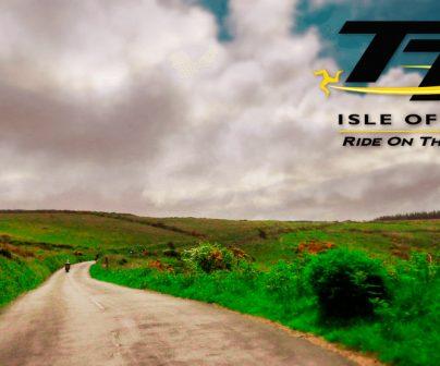 Zona de tierra del circuito Isla de Man