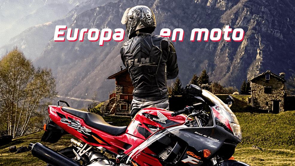 Rutas en moto: Europa te espera