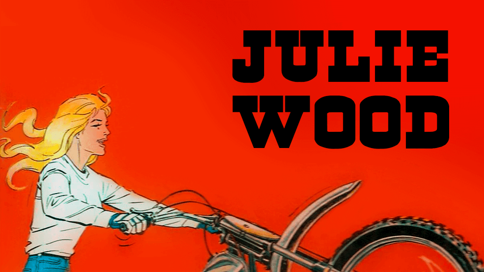 Julie Wood, la motera que nunca pasa de moda