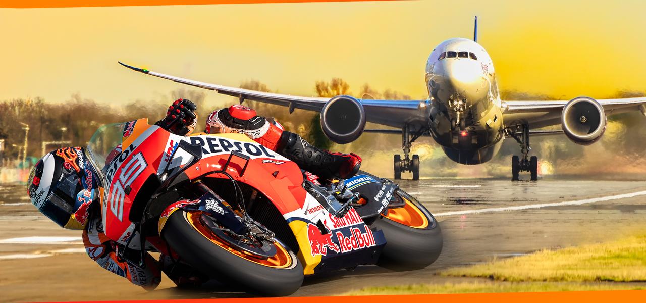 ¿Cuántos kilómetros recorre cada año el Mundial de MotoGP?