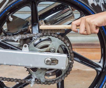 La cadena y su correcto mantenimiento