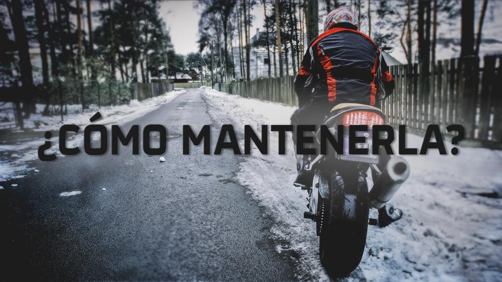 Cómo cuidar tu moto en invierno