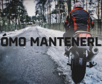 Cómo cuidar tu moto en invierno>