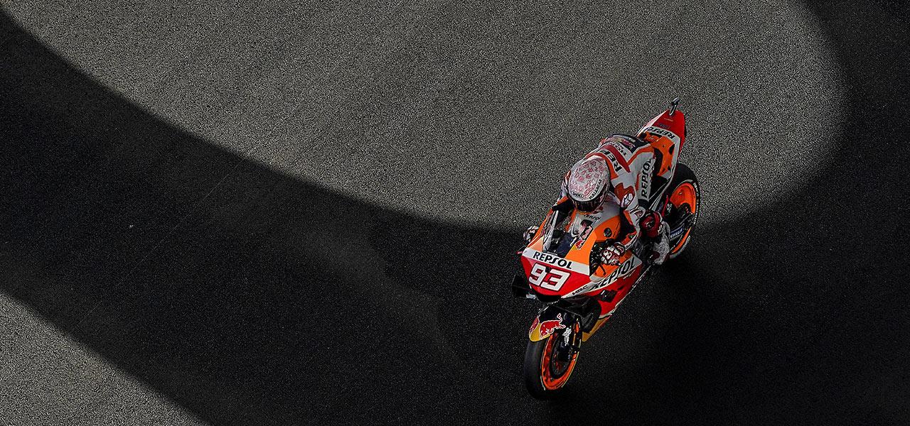 Spanish GP: Crash halts Marc Márquez's impressive fightback