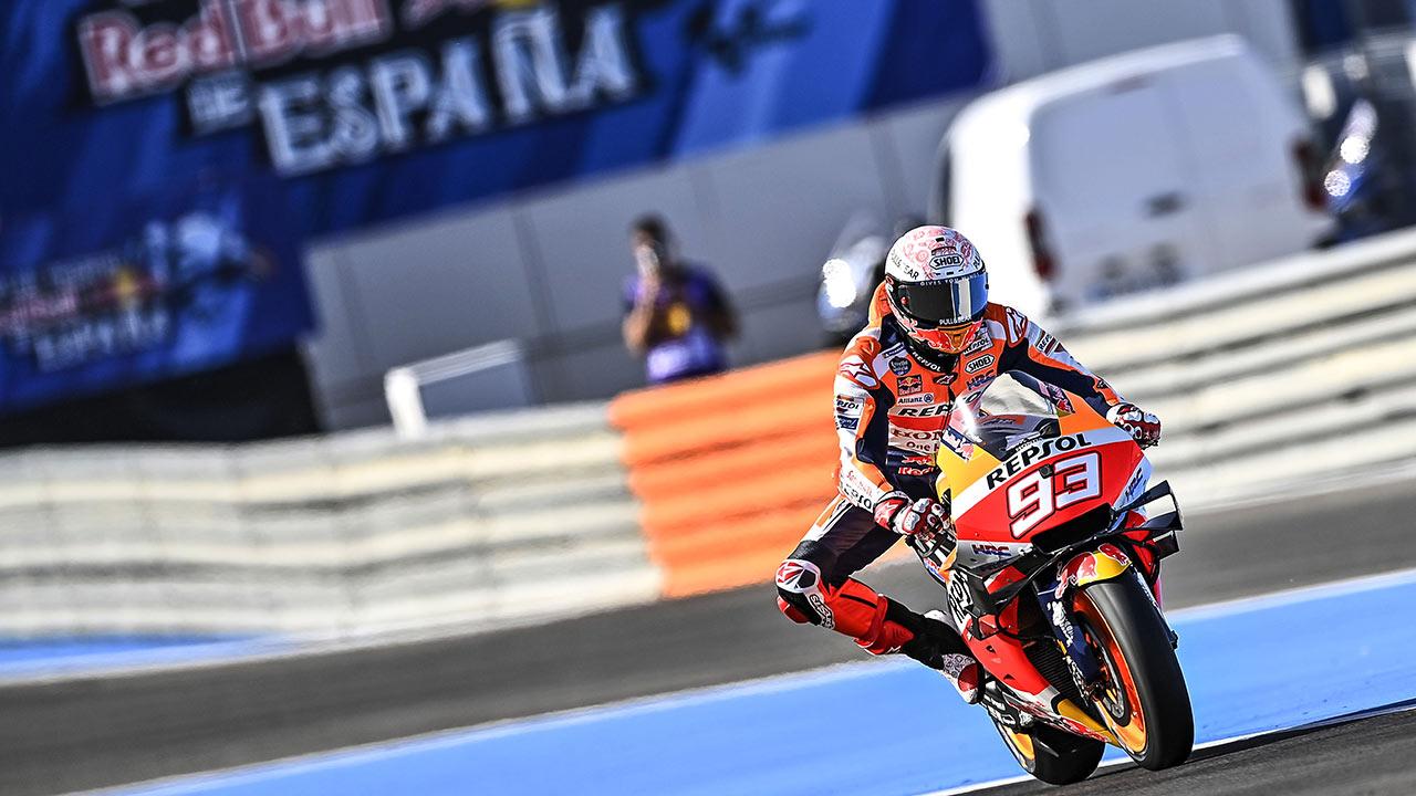 Marc Marquez suffers broken right humerus in Jerez