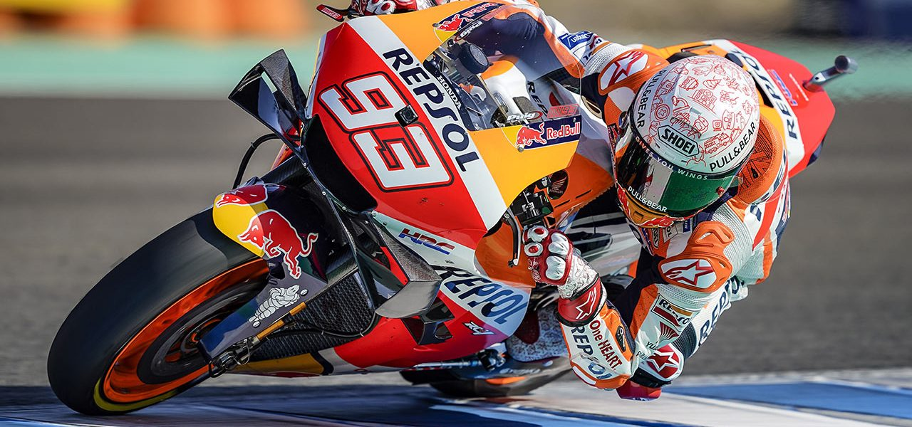 Spanish GP: Marc Marquez conquers the Jerez heat for front row start