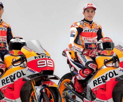 Repsol Honda Team show off 2019 colours>