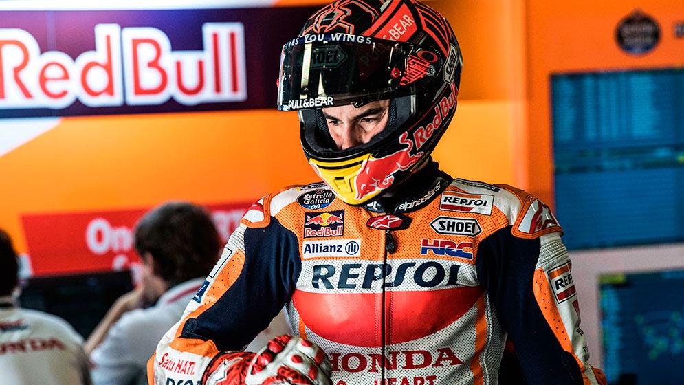 El equipo Repsol Honda concluye el test de Catalunya con Márquez al frente y Pedrosa, séptimo