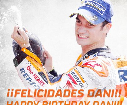 Happy 32 Birthday Dani Pedrosa!