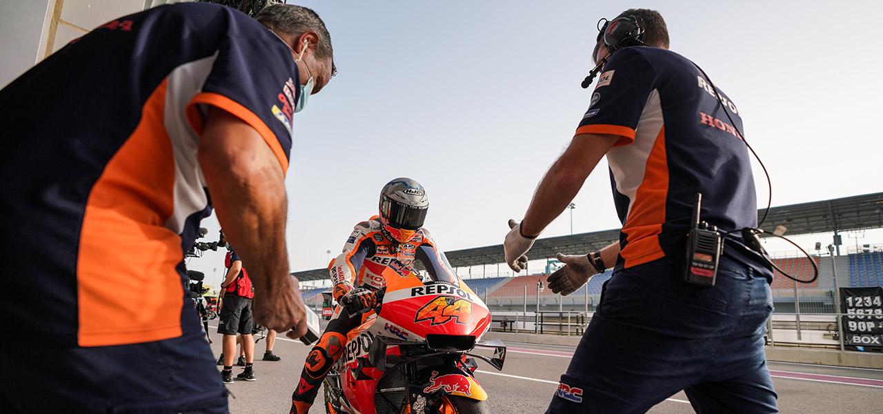 ¿Cómo se monta una MotoGP?