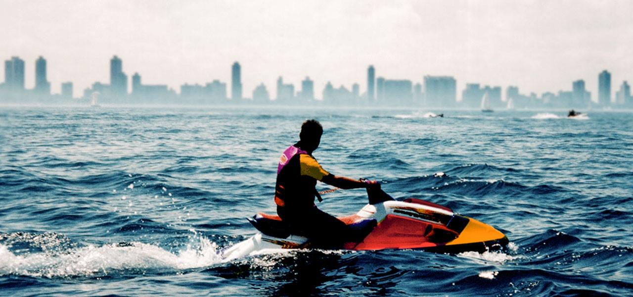 Honda Aquatrax : la moto de agua del Equipo Honda Repsol