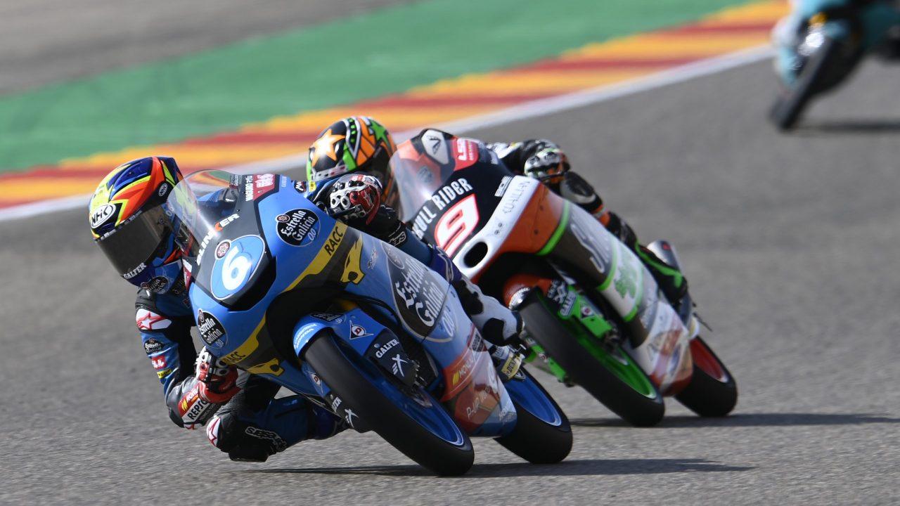 Difícil carrera para Sergio García Dols y Ryusei Yamanaka en MotorLand