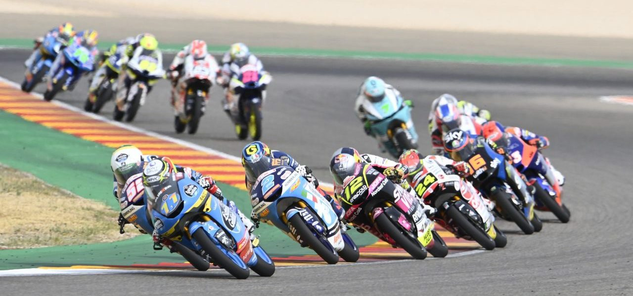 Crash for Sergío García Dols after fighting back 18 places