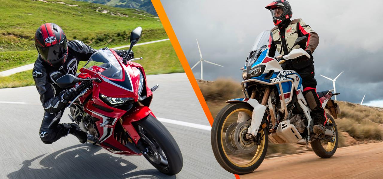 Moto de campo y moto de carretera: dos estilos ¿con cuál quedarse?