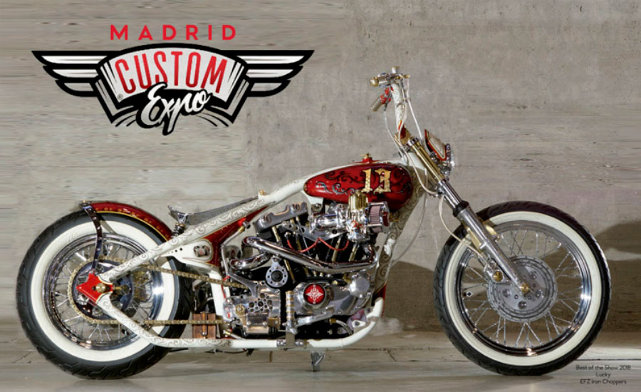 moto_custom_chasis_blanco_deposito_rojo_hecha_a_mano