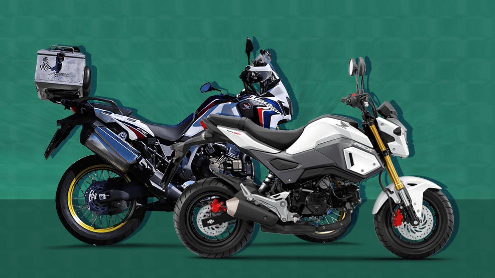 ¿Qué moto escoger según tu altura?