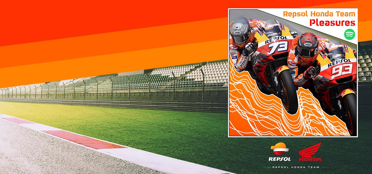 Vive las carreras desde cualquier lugar con Repsol Honda Team Pleasures