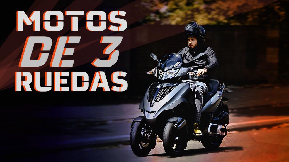 Motos de tres ruedas: todo lo que debes saber sobre ellas
