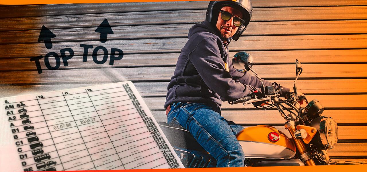 ¿Puedes conducir motos con el carnet de coche? ¡Estas son algunos ejemplos!