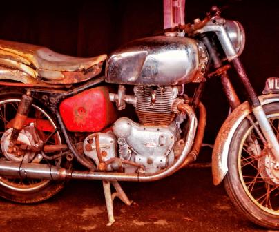 ¿Qué hago con mi moto vieja?
