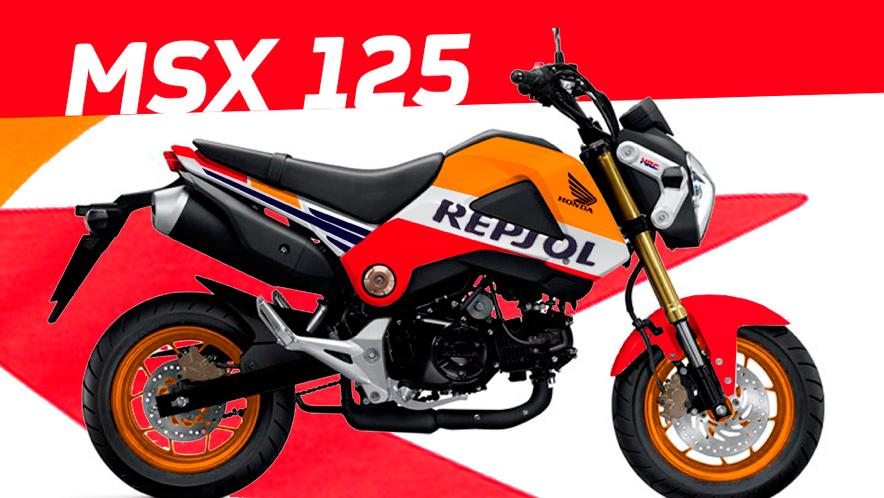Honda MSX125 / Grom otra favorita de los fans Repsol Honda