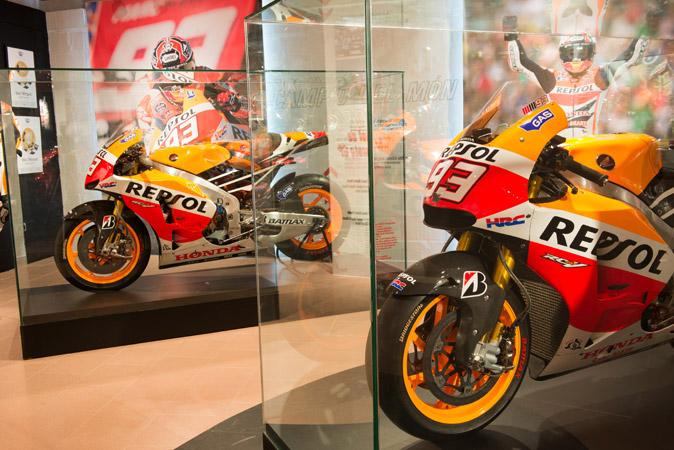Museo de Marc Márquez en Cervera motos