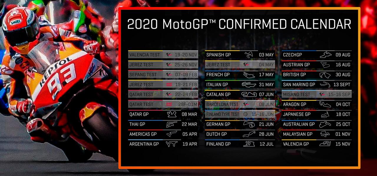 Todas las novedades en MotoGP 2020