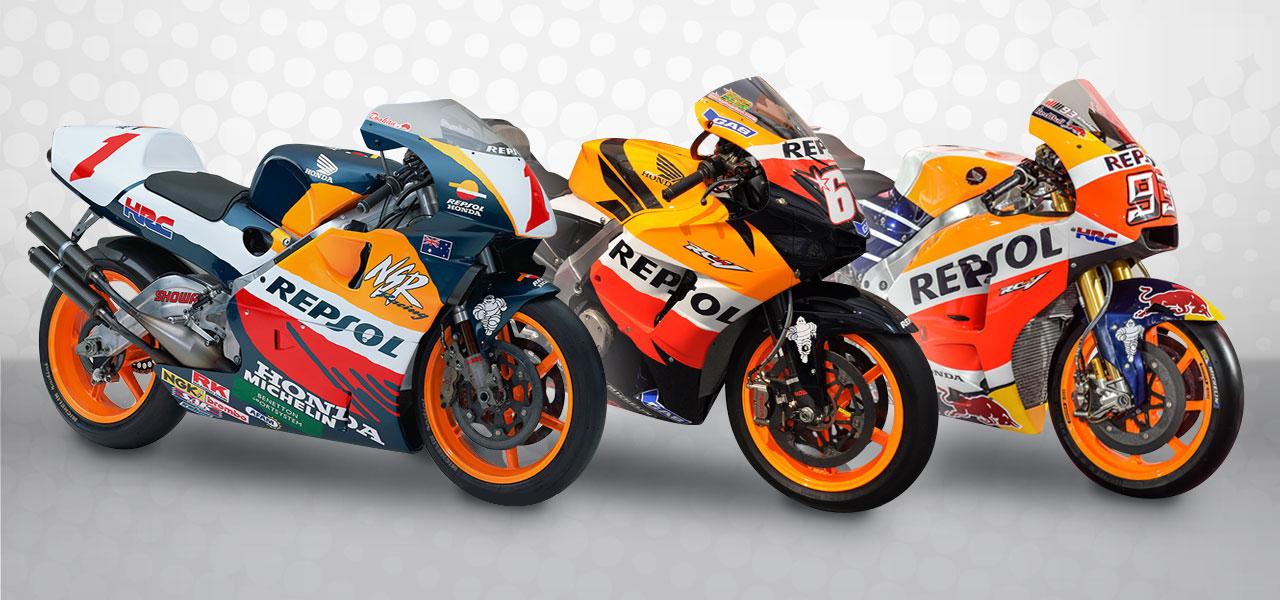 ¿Qué moto de carreras Repsol Honda es la perfecta para ti? Contesta el test y lo sabrás