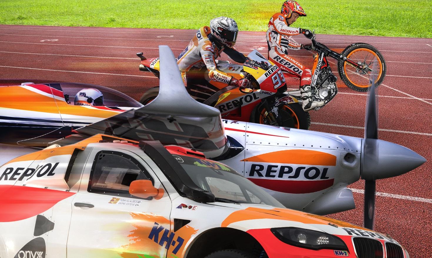 Las olimpiadas del motor Repsol