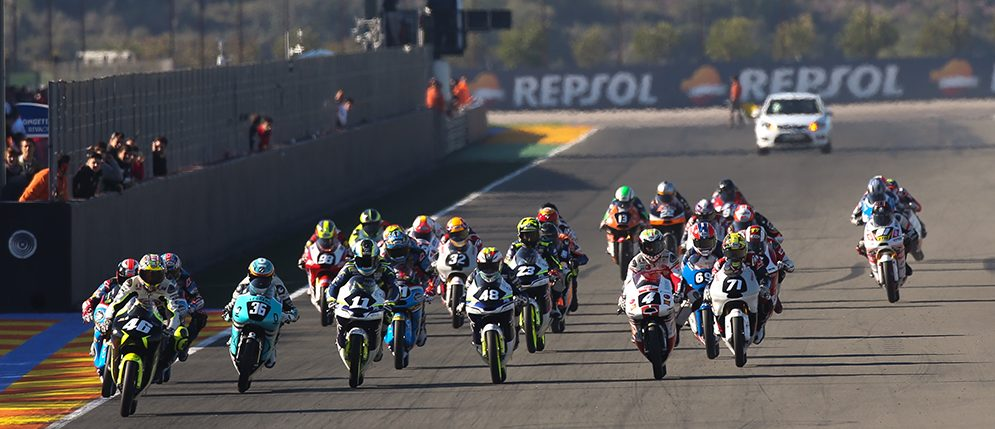 Everything ready for the start of the 2016 FIM CEV Repsol