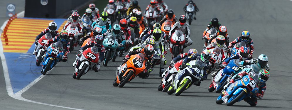Ramirez, Odendaal and Scheib, first leaders of the FIM CEV Repsol