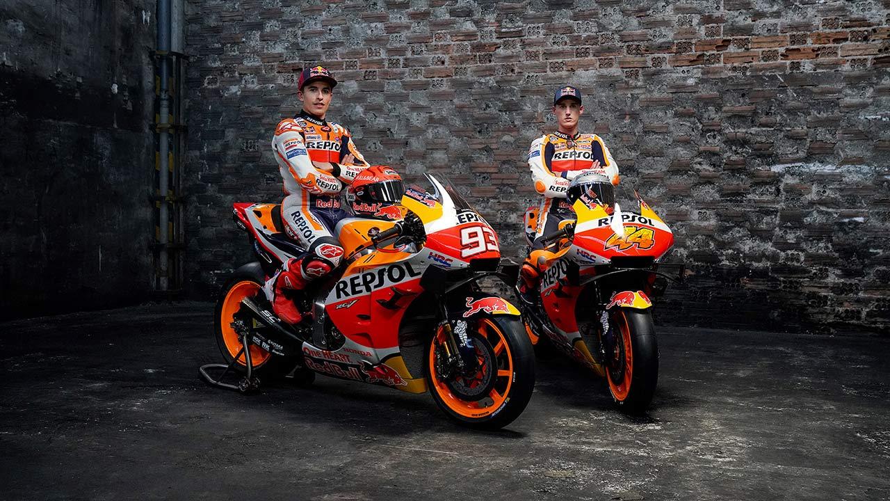 Repsol Honda Team present riders for 2021 MotoGP season