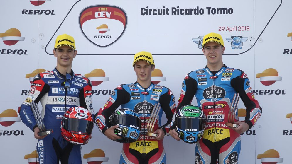 García, Fernández, Raffin, Gómez and Patacca win at the FIM CEV Repsol